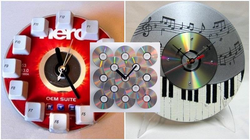 Поделки из дисков для сада 70 фото идей