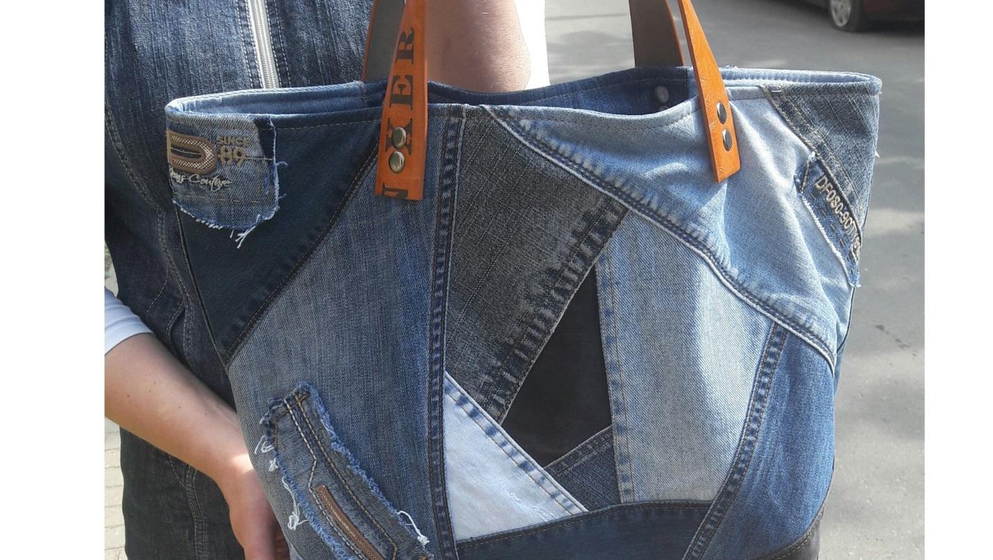 6eec6973fdee Что можно сделать из старых джинсов — 38 оригинальных идей
