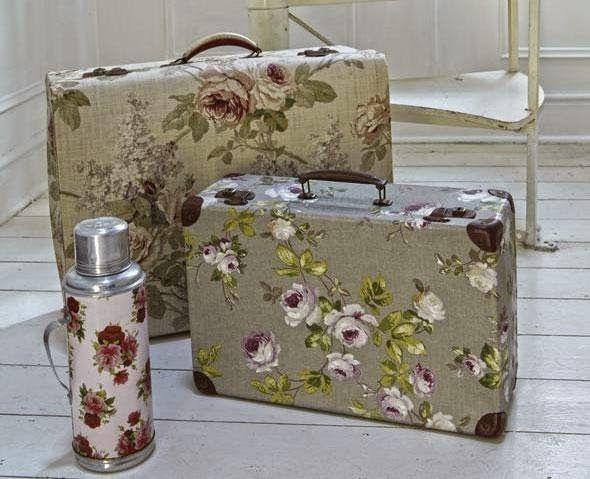 Декорация чемодана