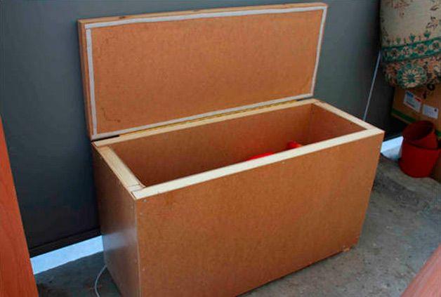 Ящик для картошки из шкафа