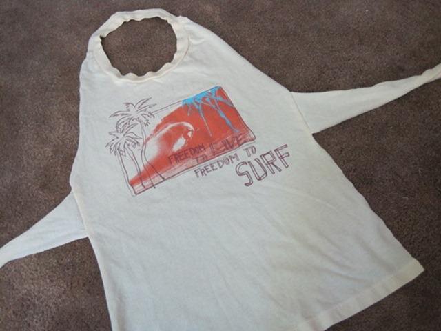 Фартук из футболки