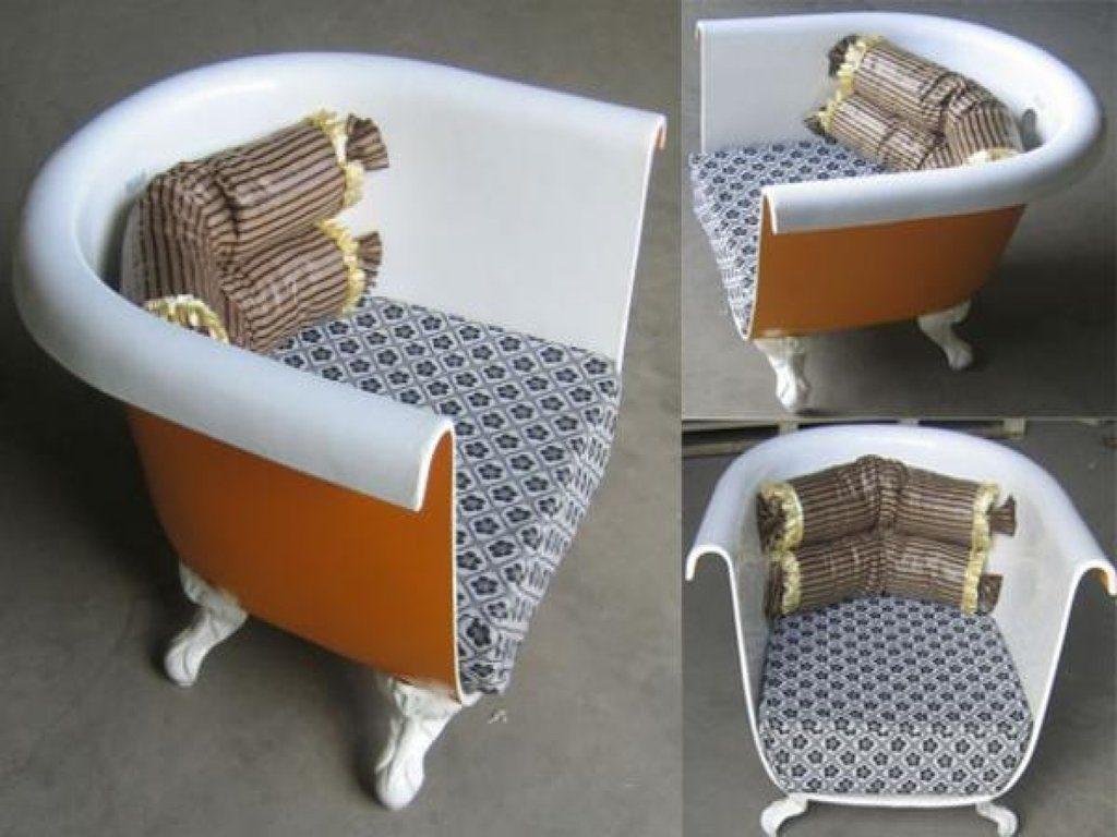 Кресло из ванны