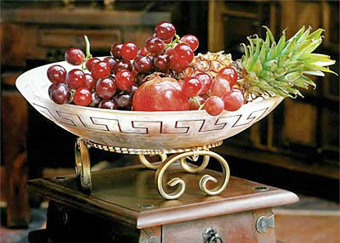 Широкий плафон для фруктов